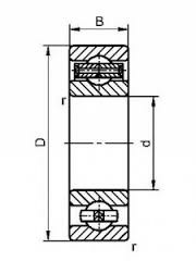сепоратор радиального подшипника