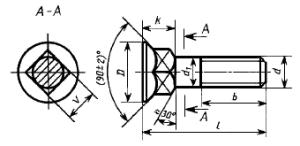 7786-81 (DIN 605, 608)